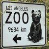 Zoowegweiser gleich um die Ecke