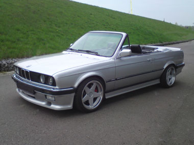 Mein Aktueller BMW e30 Cabrio V8 M60