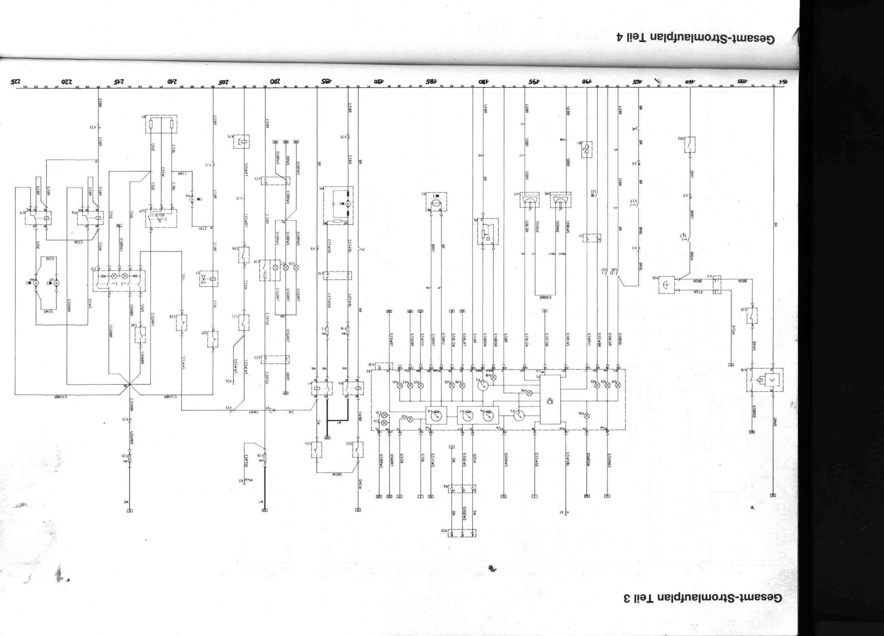 schaltplan hauptkabelbaum touring 316i elektrik e30. Black Bedroom Furniture Sets. Home Design Ideas