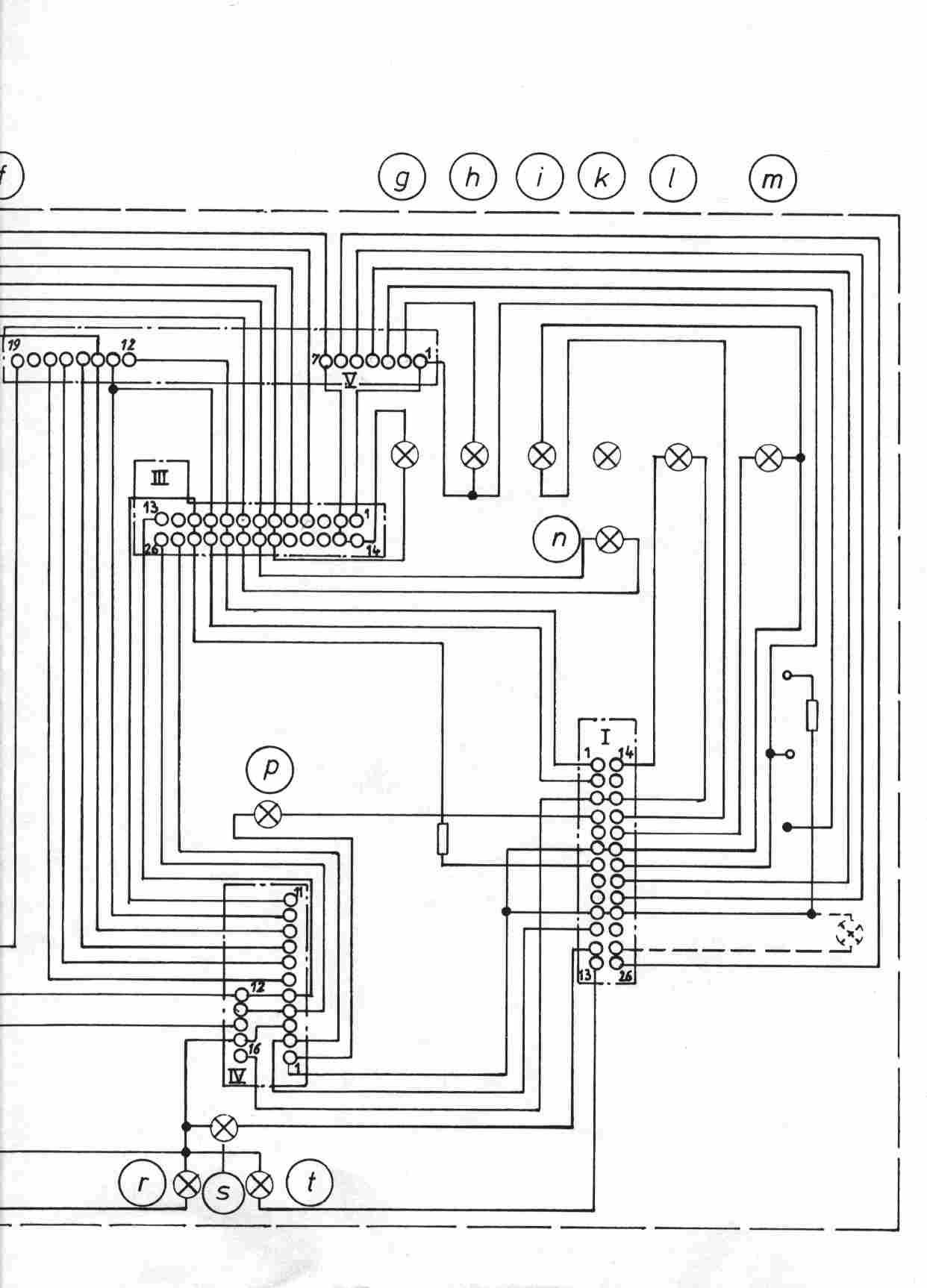 Pinbelegung Kombiinstrument - Elektrik - E30-Talk.com