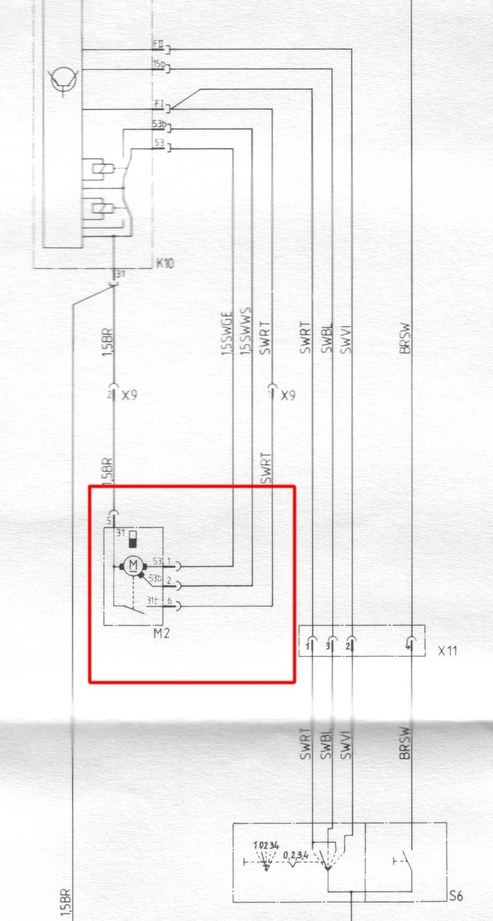 scheibenwischermotor elektrik e30. Black Bedroom Furniture Sets. Home Design Ideas