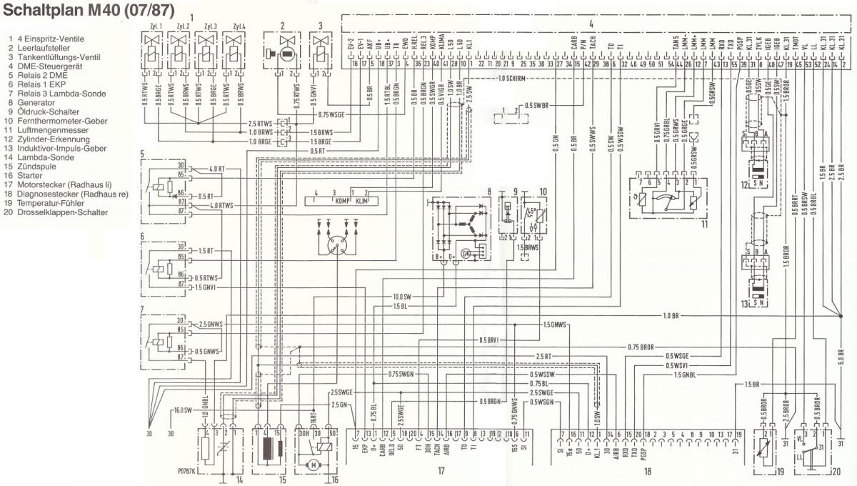 Bmw E46 Motor Schaltplan