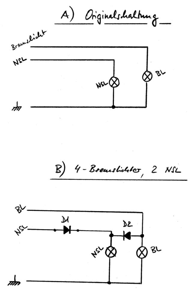 nebelschlußleuchte mit bremse koppeln - Seite 2 - Elektrik - E30 ...