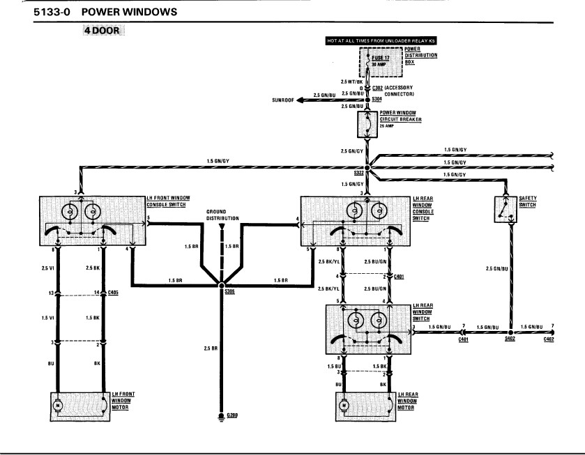 elektrische fensterheber ausstattung e30. Black Bedroom Furniture Sets. Home Design Ideas