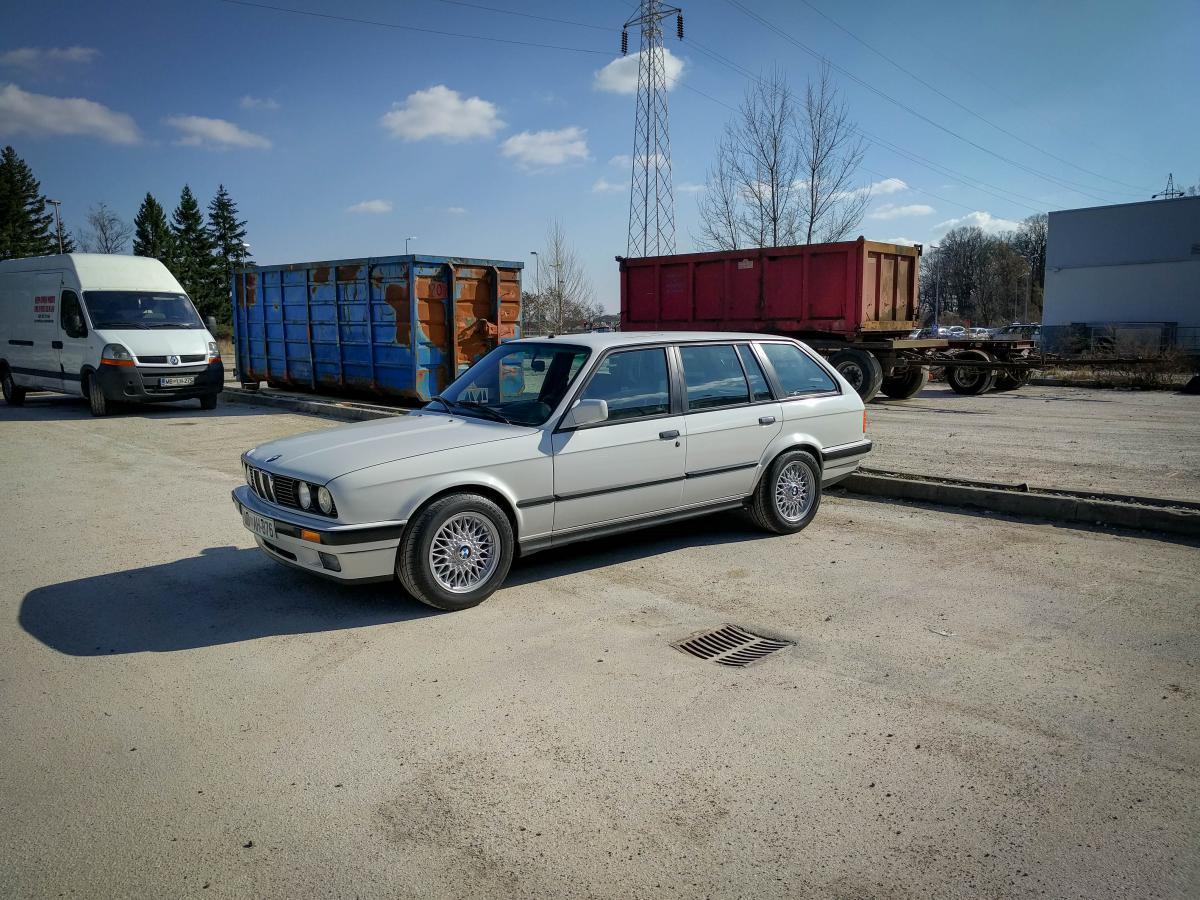 H/&R Federn Tieferlegung für BMW 3er Touring E30 29684-1
