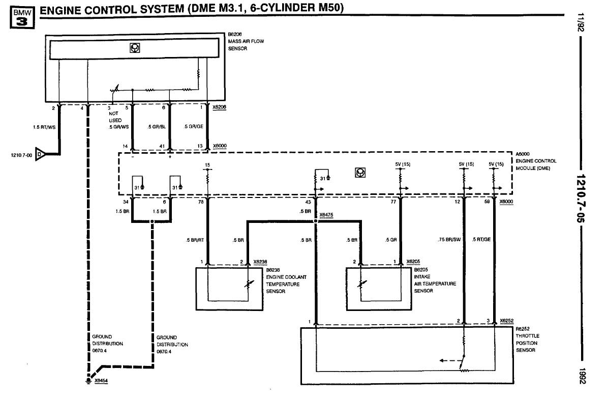 belegung stecker lmm m50b25 elektrik e30. Black Bedroom Furniture Sets. Home Design Ideas