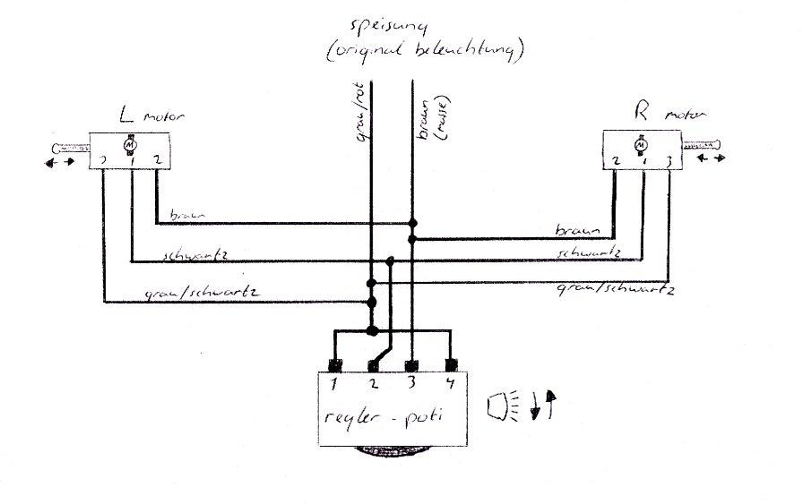 Großzügig Schaltplan Scheinwerfer Bilder - Elektrische Schaltplan ...