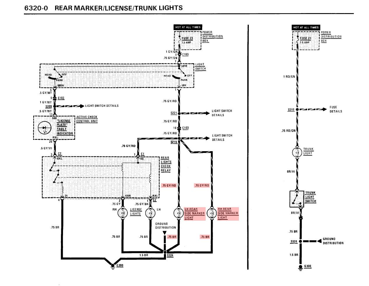 Dringend Hilfe Standlicht R 252 Ckleuchte Kabelfarbe
