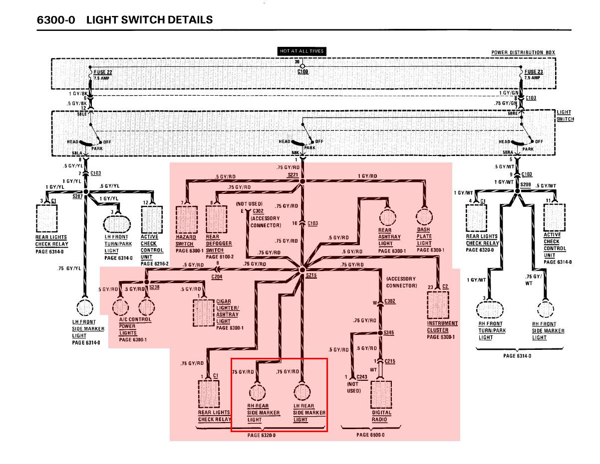 dringend hilfe. standlicht rückleuchte/kabelfarbe - Elektrik - E30 ...