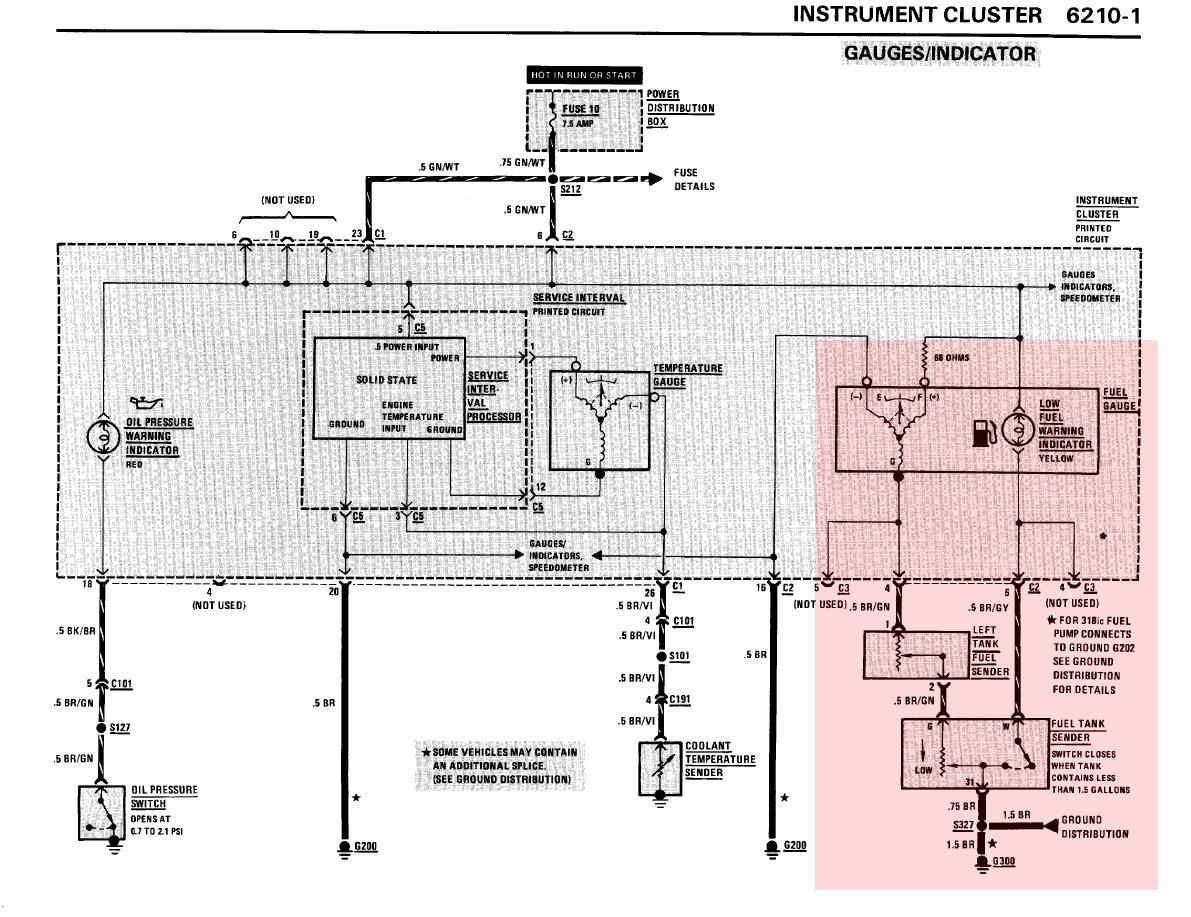 problem mit tankanzeige elektrik e30. Black Bedroom Furniture Sets. Home Design Ideas