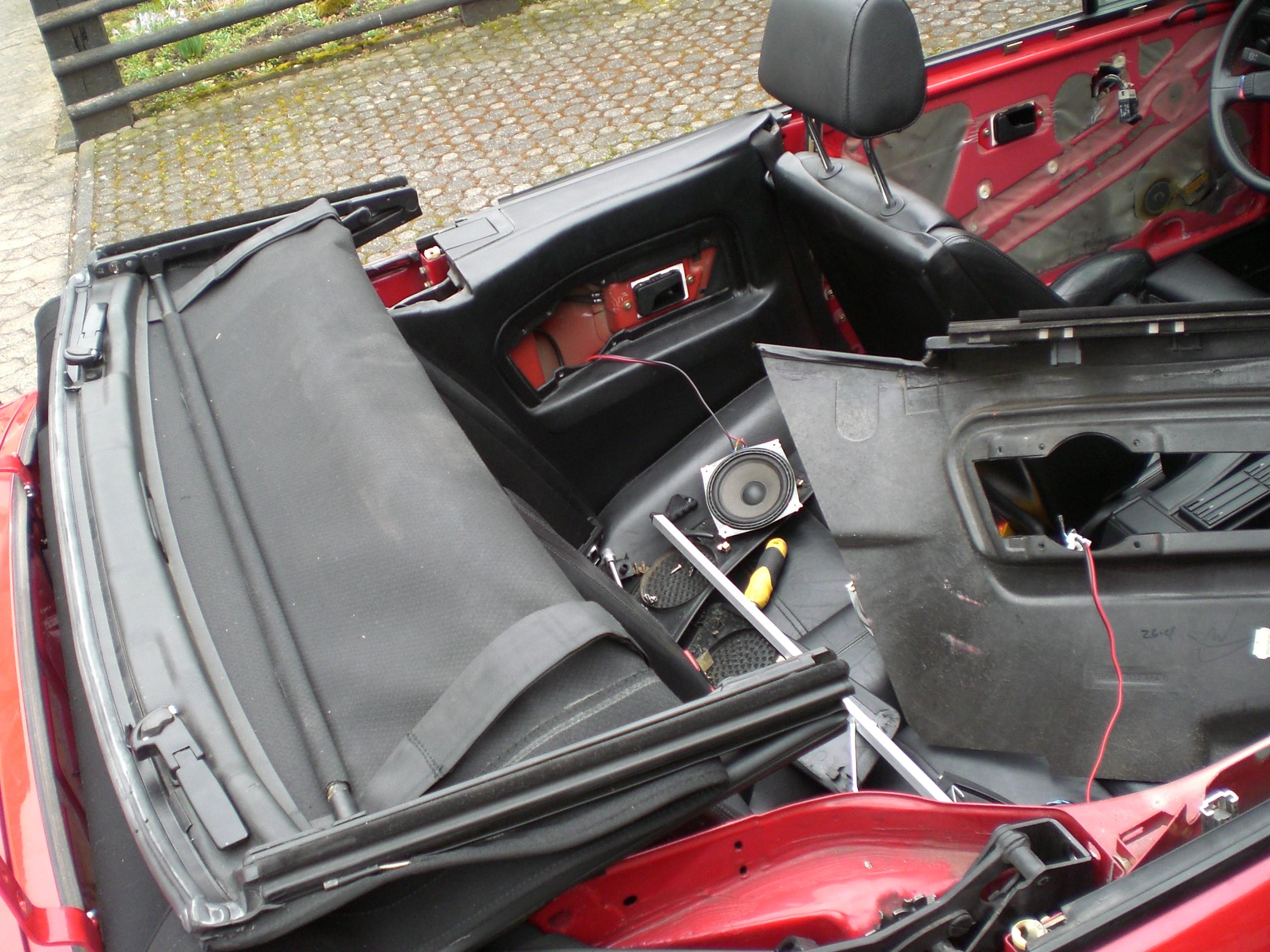 Cabrio Verdeck Ausbauen Karosserie E30 Talk Com