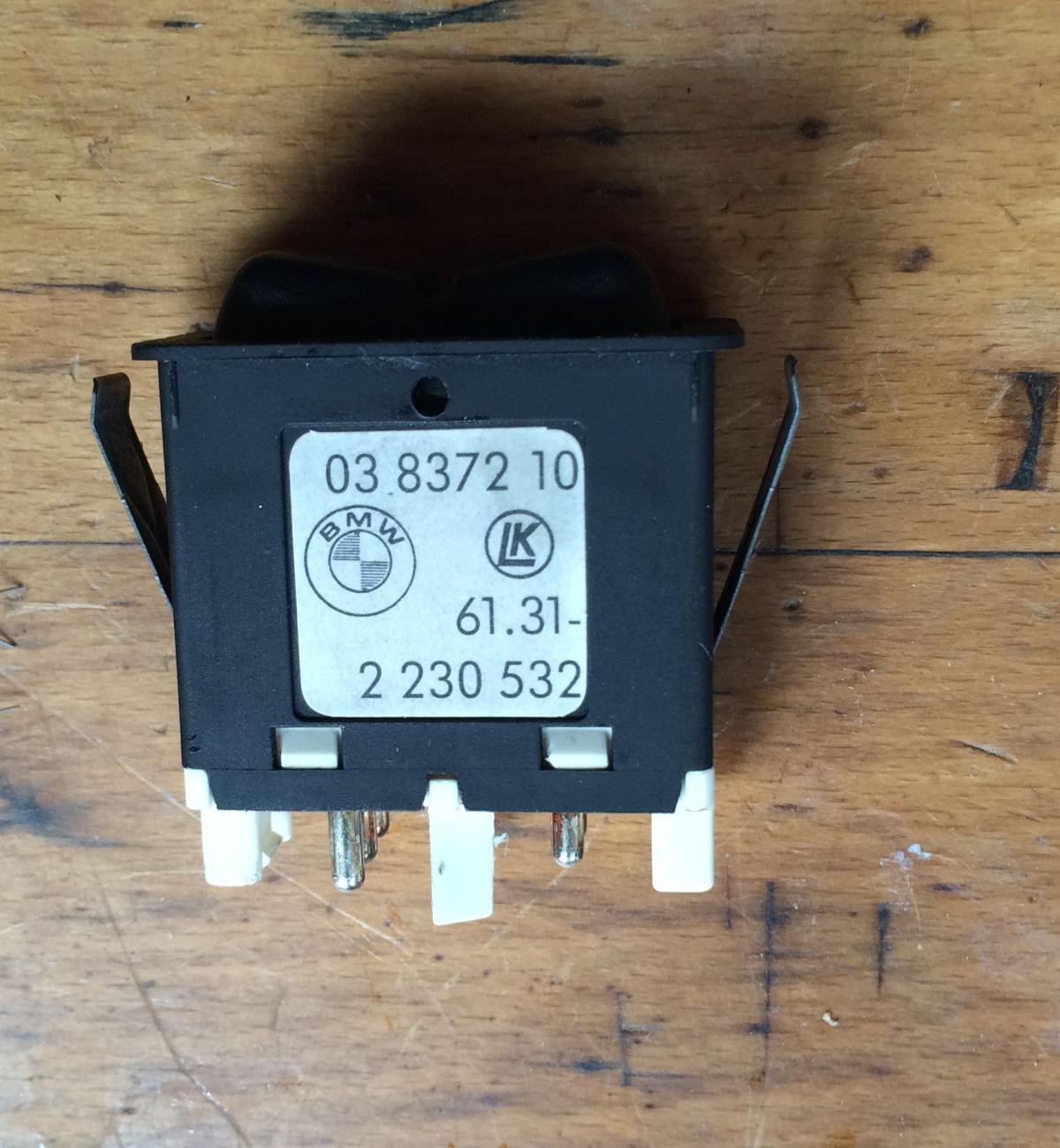 Beleuchtung Schalter E-Verdeck reparieren - Elektrik, Instrumente ...