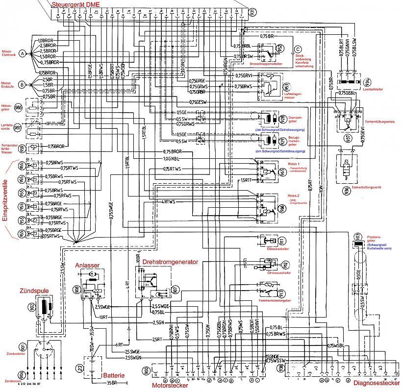 Fantastisch Bmw 325i Schaltplan Fotos - Die Besten Elektrischen ...