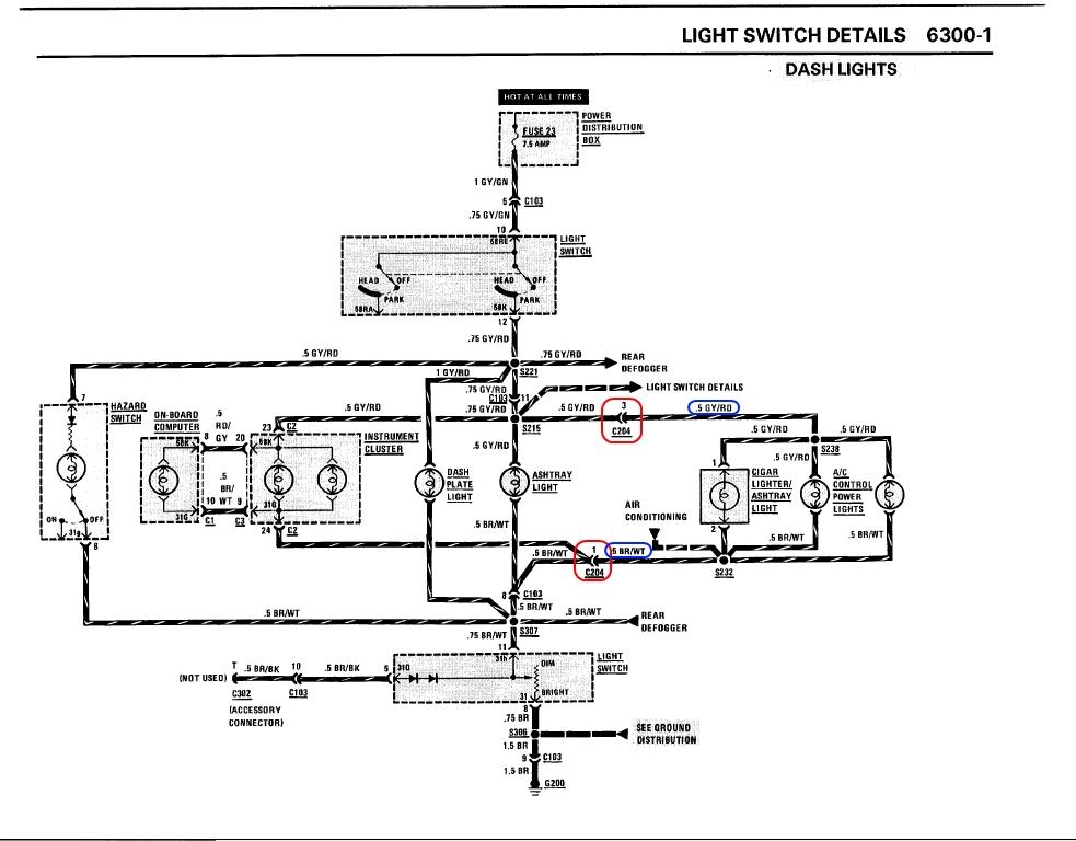 stromversorgung innenraumgebl se elektrik e30. Black Bedroom Furniture Sets. Home Design Ideas
