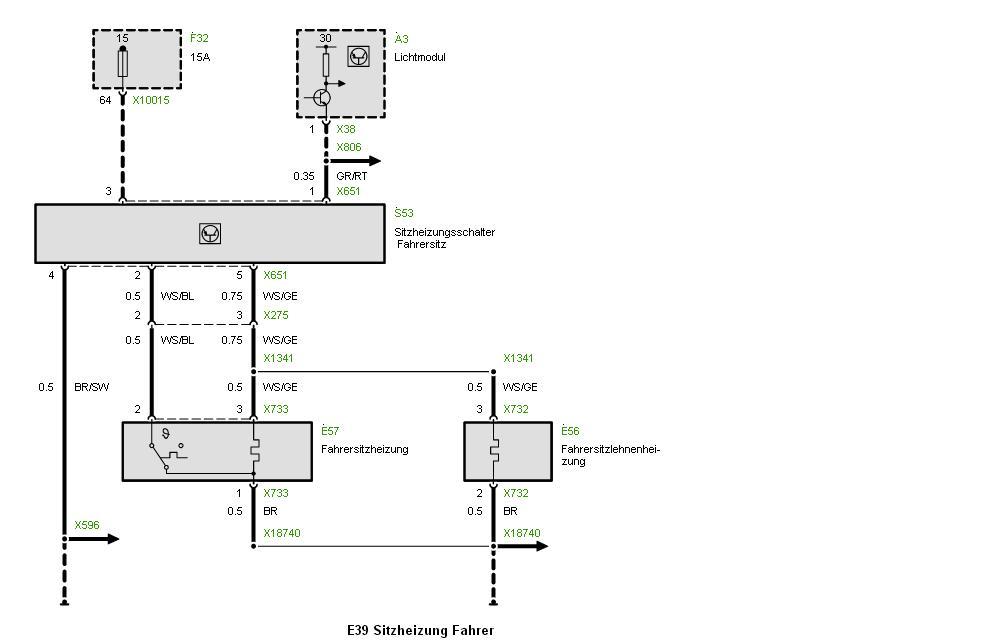 Nachrüst-Sitzheizung mit E38 Schaltern - Elektrik - E30-Talk.com