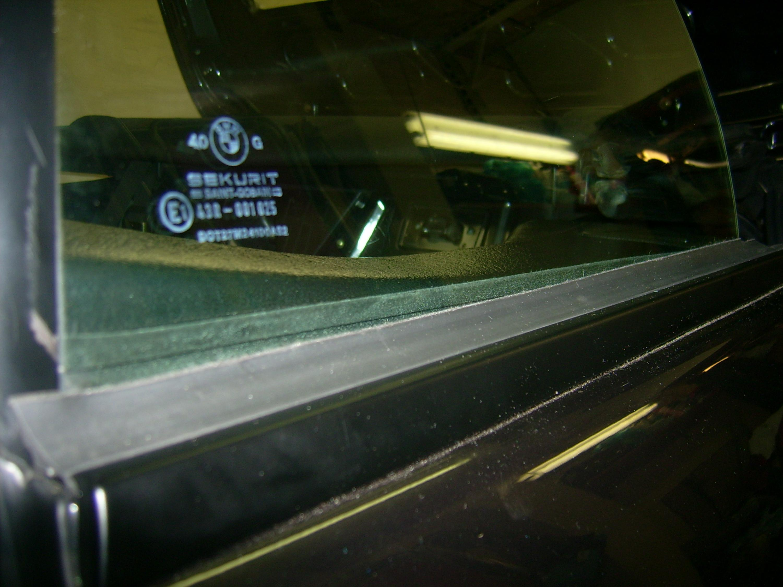 E30 Cabrio Seitenscheiben Dichtung Ausstattung E30